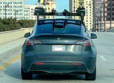 Tesla Modely Lidar Sensors Back