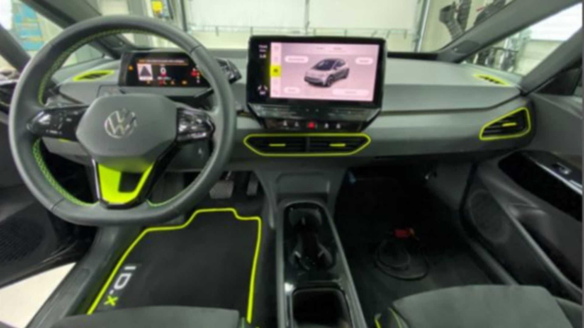 Volkswagen ID.X Concept Interior