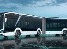 Autobus Electrico Barcelona 18 Metros