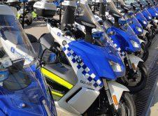 Motos Electricas Policia Urbana Bcn