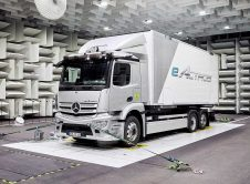 Mercedes Benz Eactros Tests