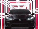 Todo listo para la entrega oficial de las primeras unidades del Model S Plaid