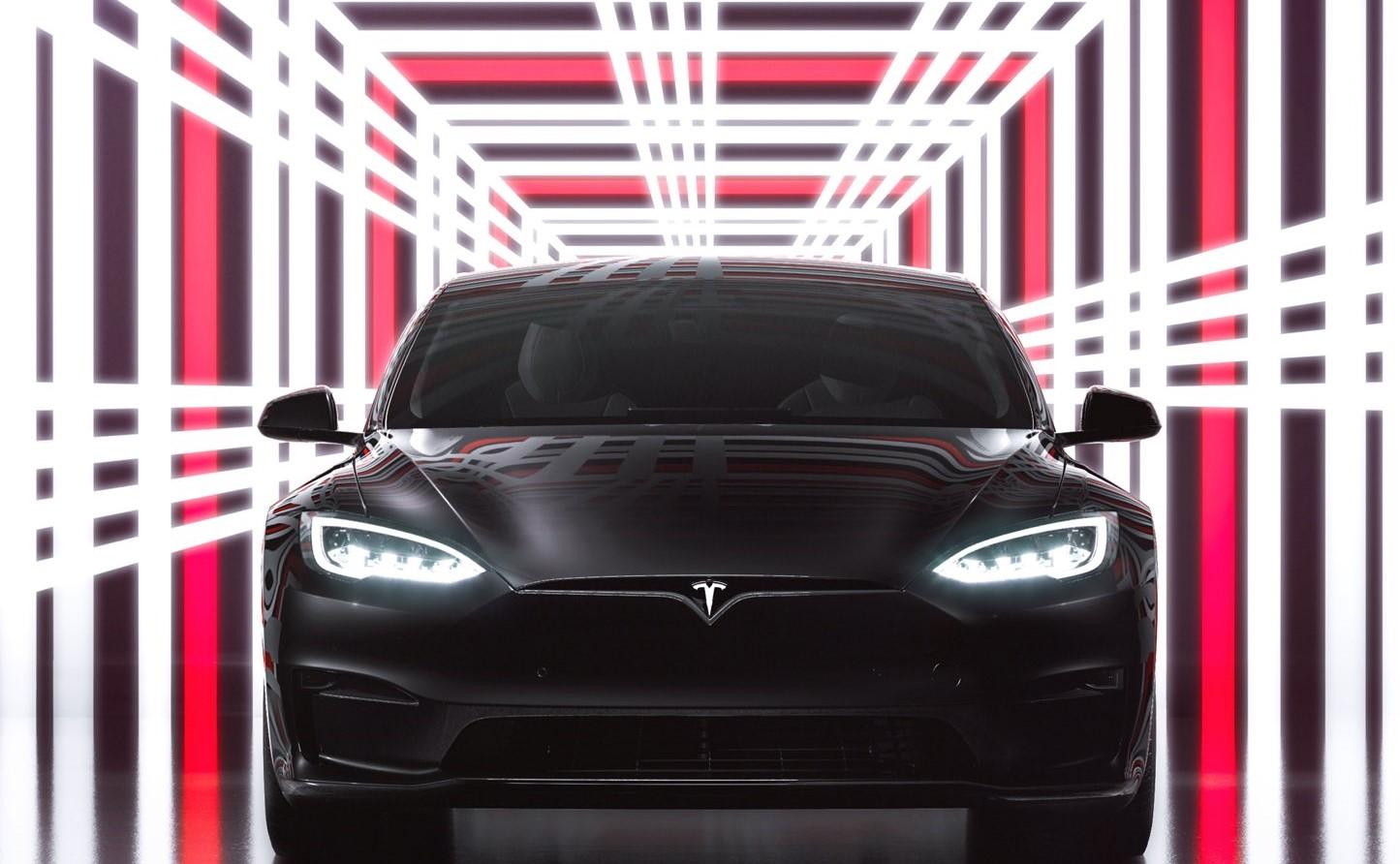 Tesla Model S Plaid Event