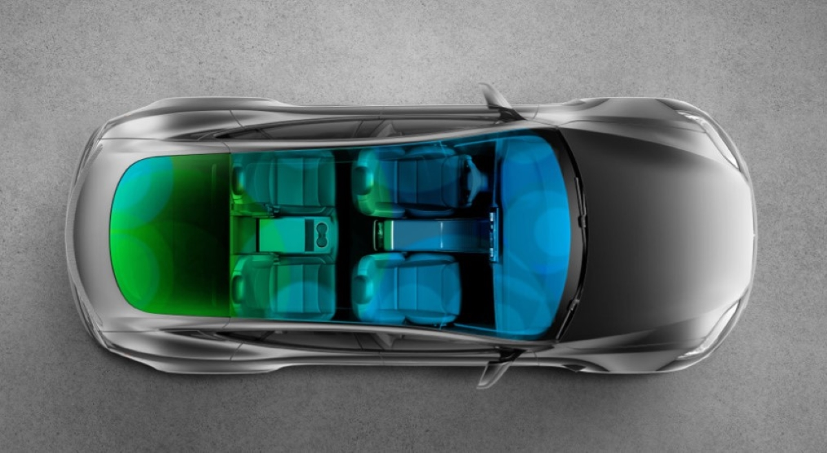Tesla Model S Plaid Sound Anc