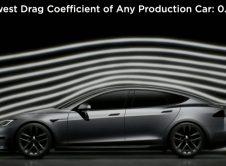 Tesla Model S Plaid Drag Coef