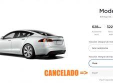 Tesla Model S Plaid+canceled