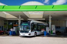 Hyundai prueba el autobús de hidrógeno en Munich