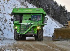 Edumper Lynx Camión Eléctrico Minero