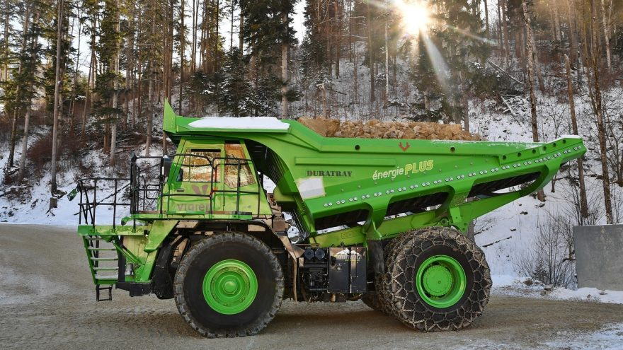 Edumper Lynx Camion Eléctrico Mina