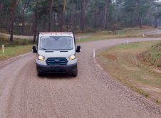 New Ford E Transit During Durability Testing