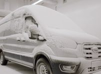 Ford E Transit Testing Involves Extreme Heat And Cold