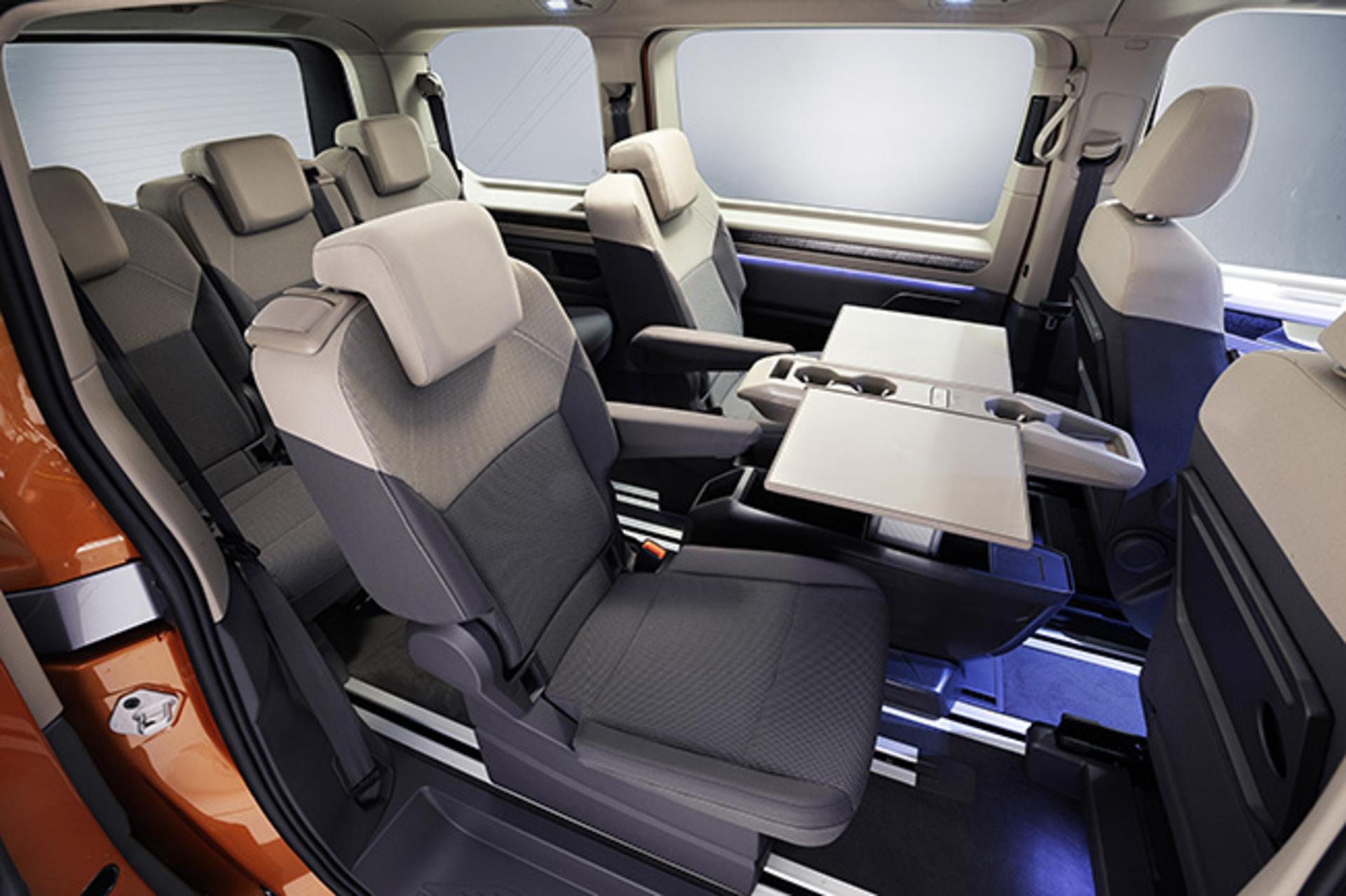Multivan Interior