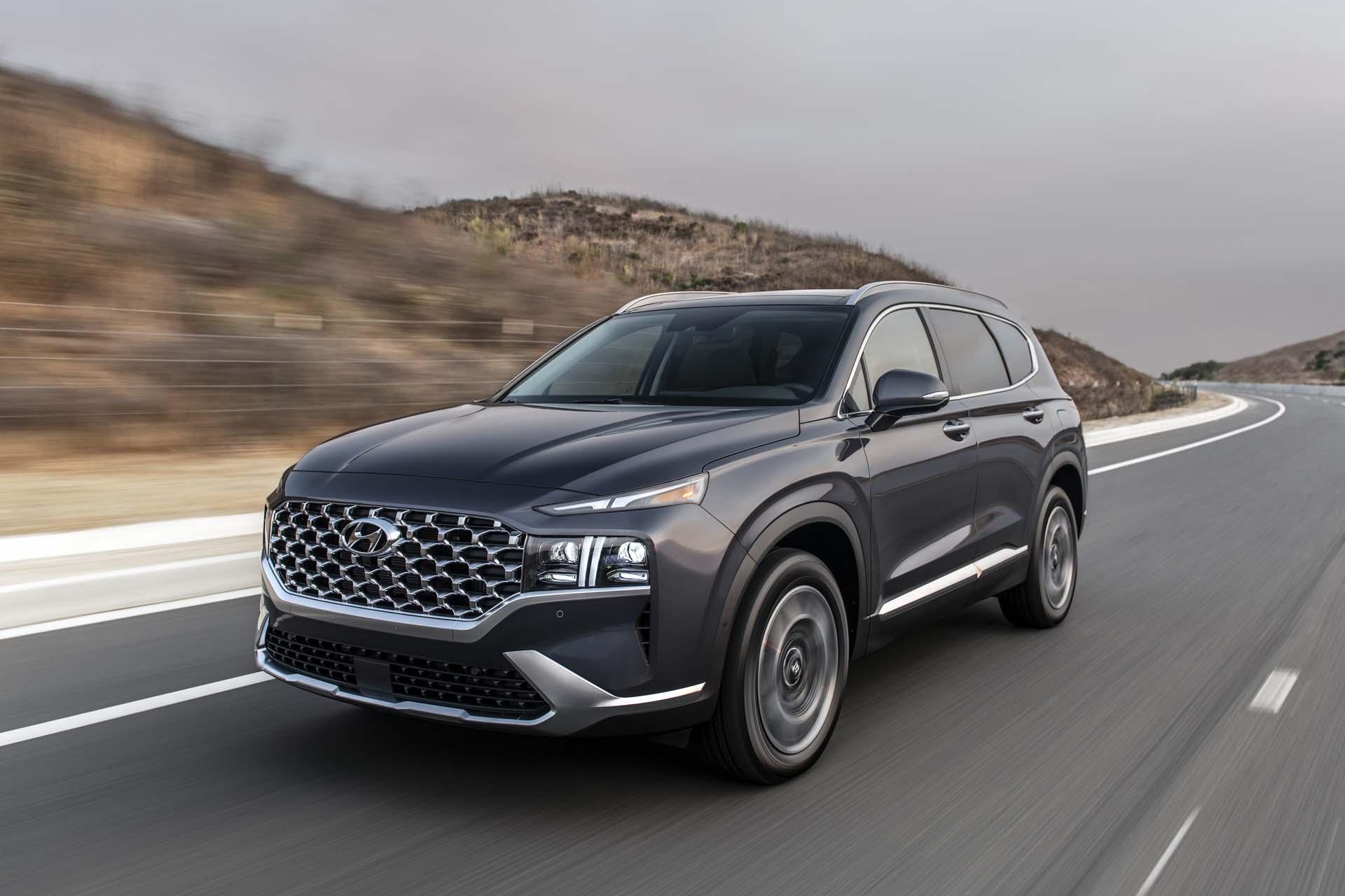 2021 Hyundai Santa Fe 100764926 H