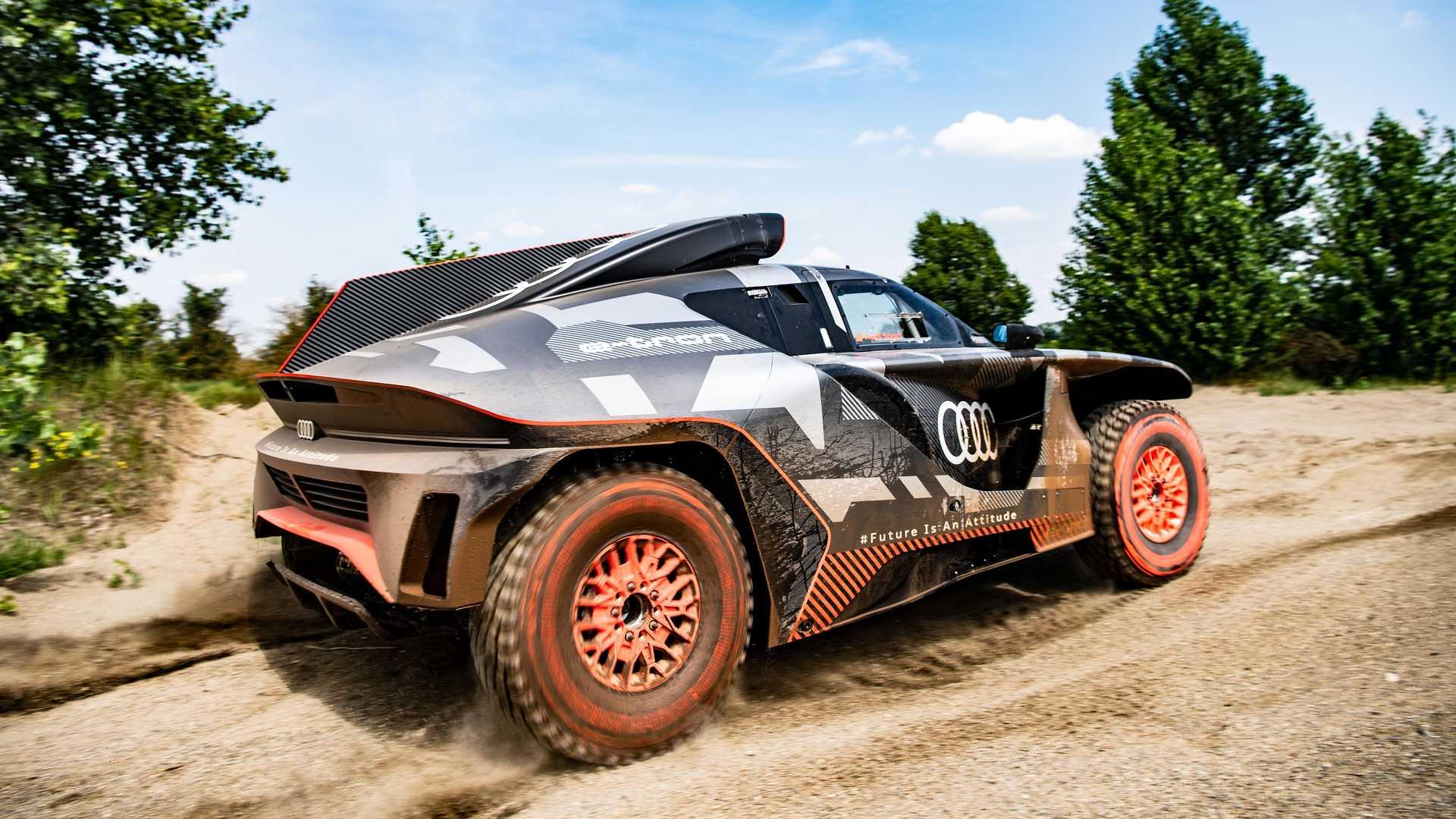 Audi Rs Q Etron 2022 Back