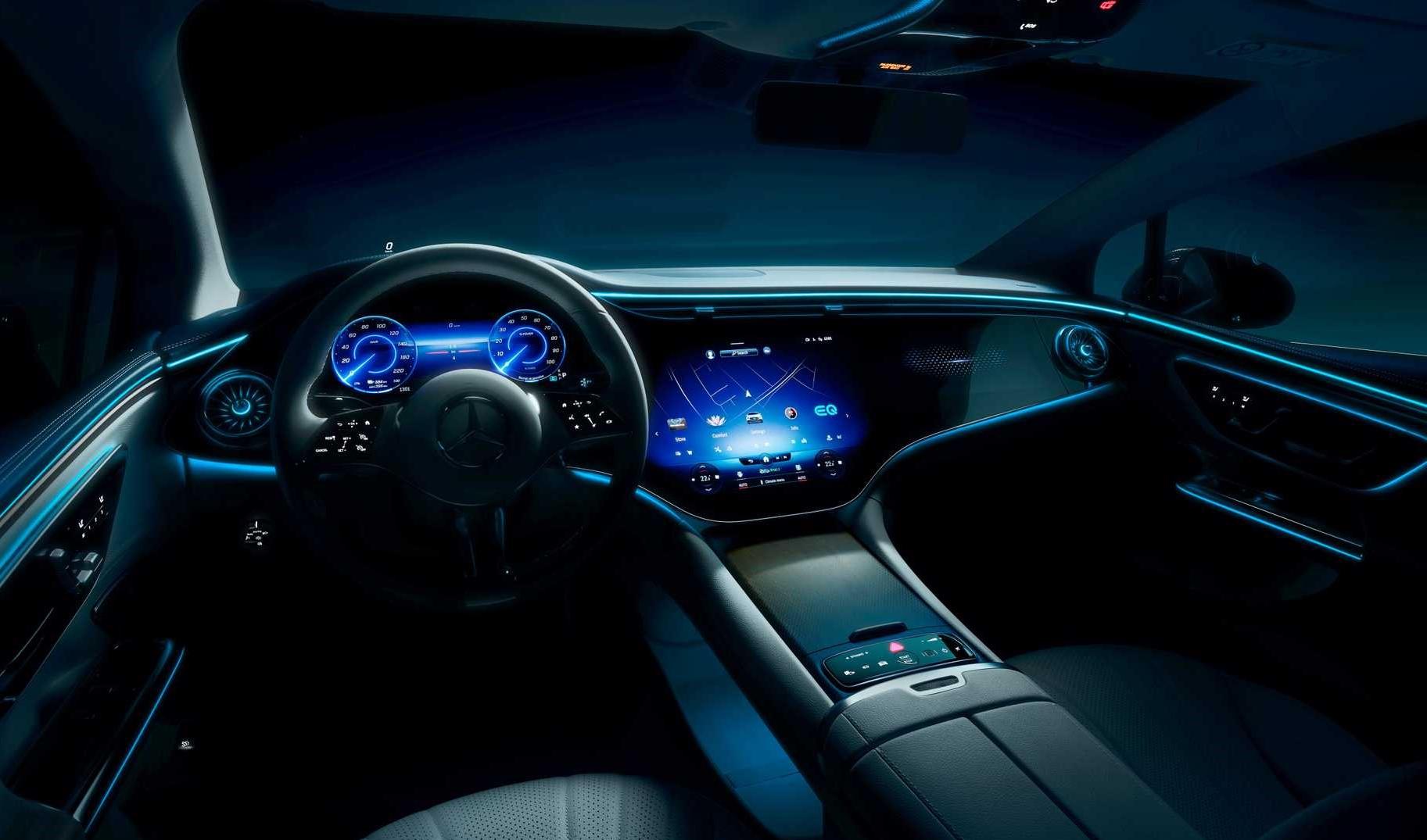 Mercedes Benz Eqe Interior