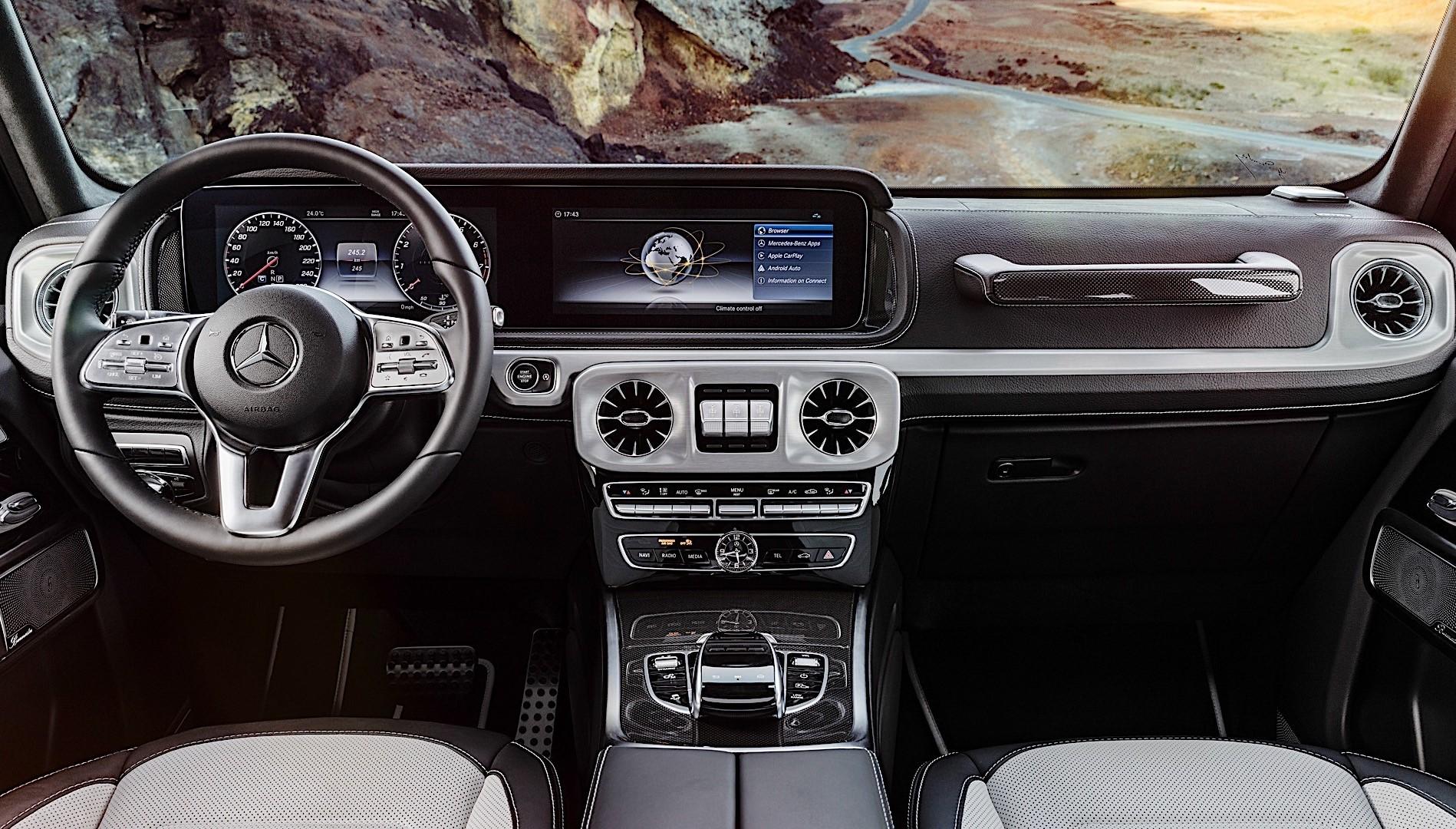 Mercedes Benz G Class Eqg Interior