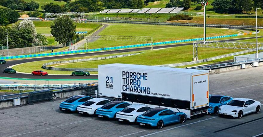 Carga Porsche Trailer