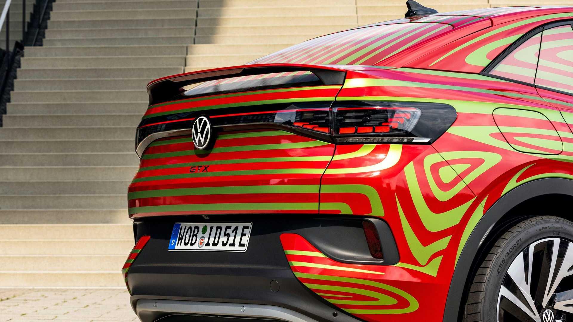 Volkswagen Id5 Gtx Back