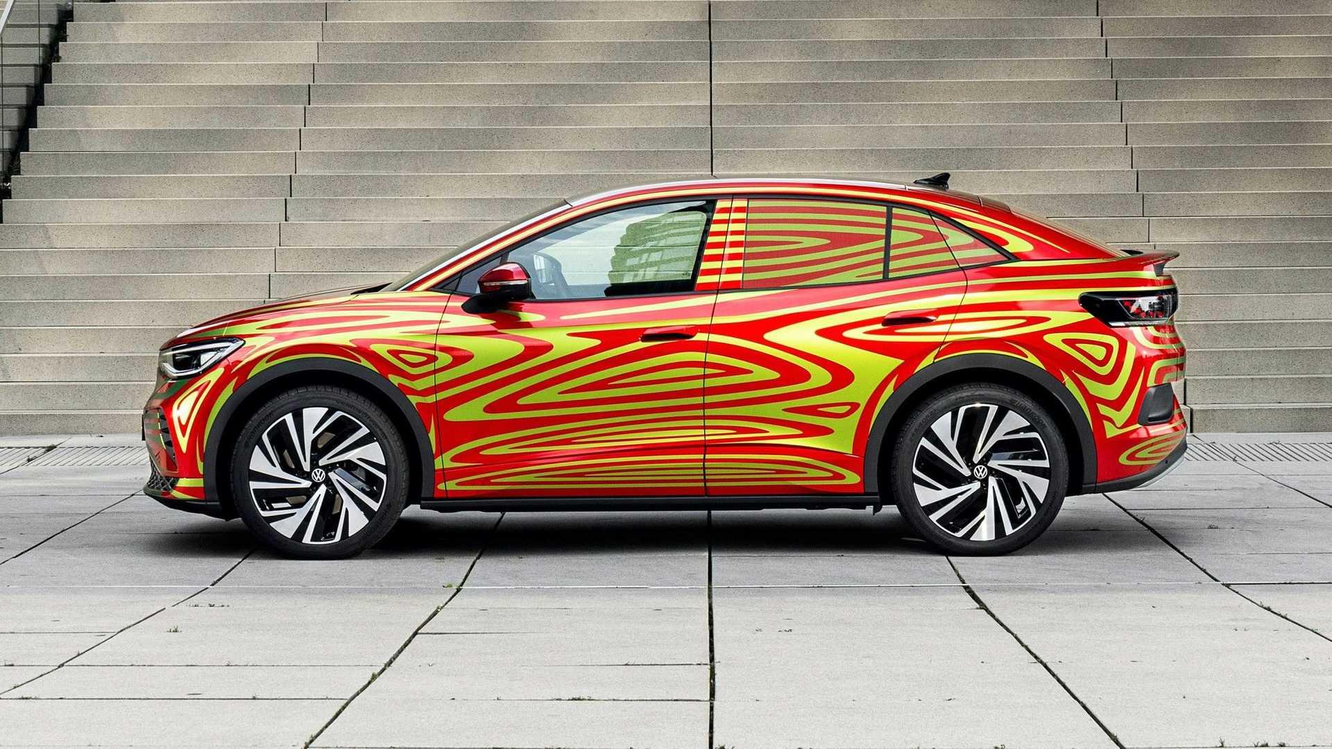 Volkswagen Id5 Gtx Side