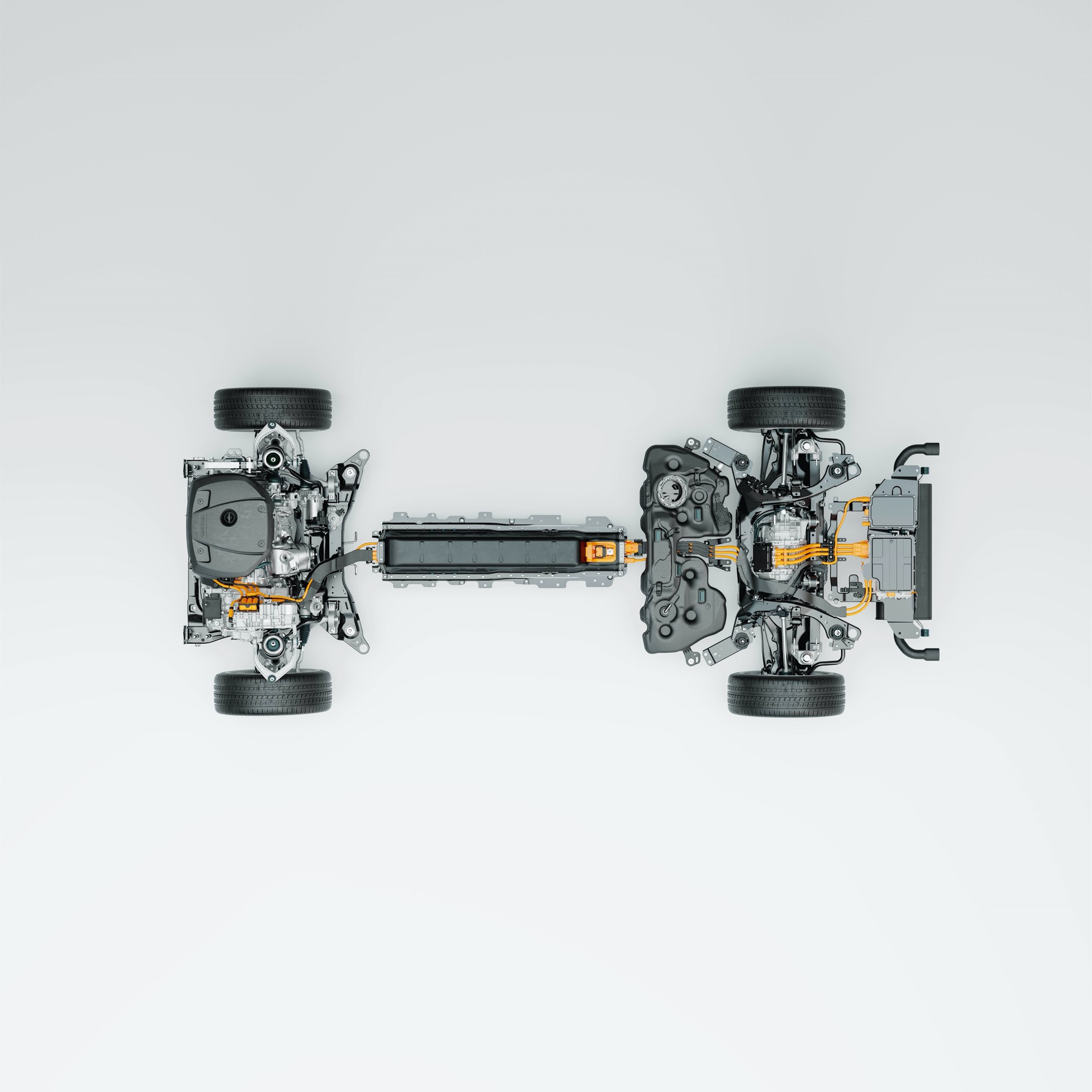 Technical Cutaway: Volvo Cars' New Recharge Plug In Hybrid Powertrain Outperforms Average Daily Mileage On A Single Charge