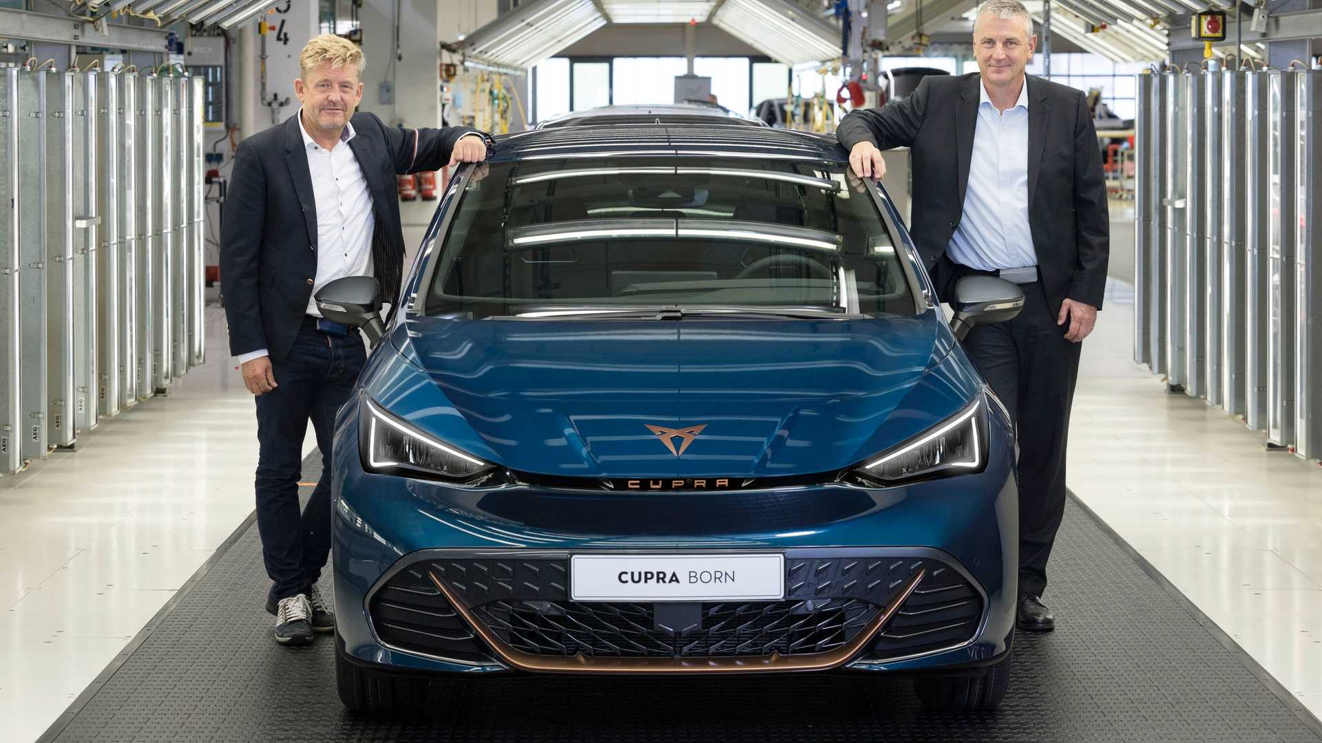 Cupra Born Production Zwickau Front