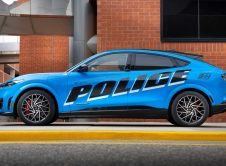 Ford Mustang Mache Police Side