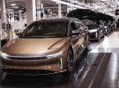 Lucid Motors inicia oficialmente la producción de su berlina eléctrica de lujo