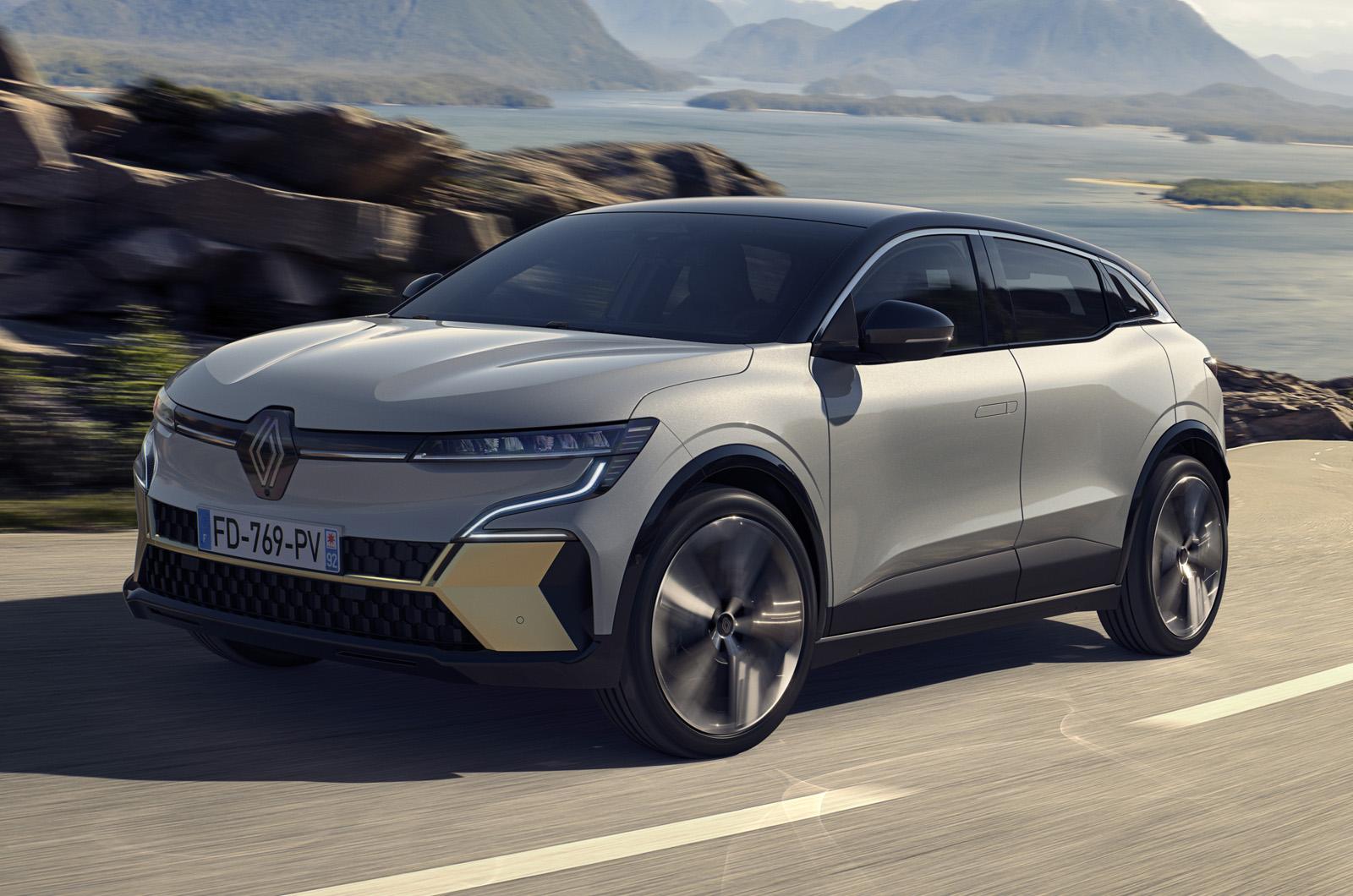 Renault Megane Electric Road