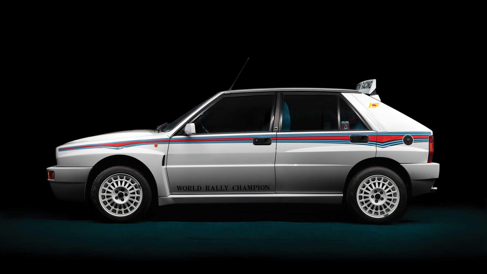Lancia Delta Integrale Side
