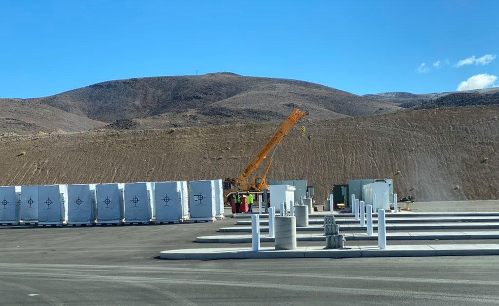 Tesla Megacharger Nevada