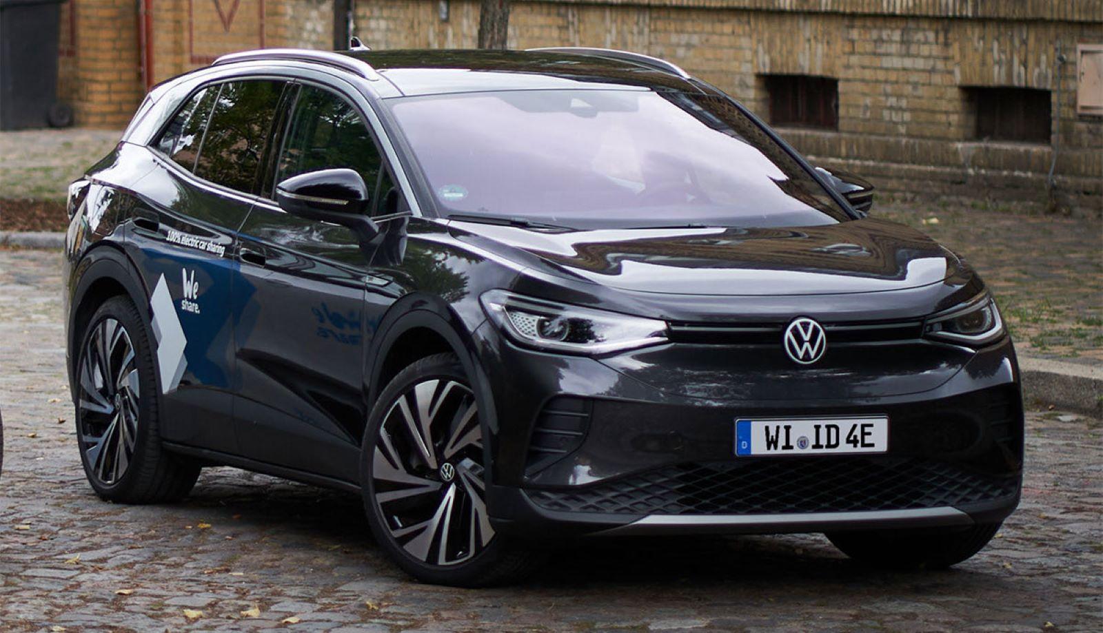 Volkswagen Weshare Berlin Id4