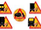 Esta es la nueva señal de aviso de ángulo muerto: ¿qué vehículos la llevarán?