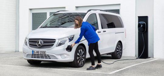 Mercedes eVito Tourer: ahora con batería de 60 kWh