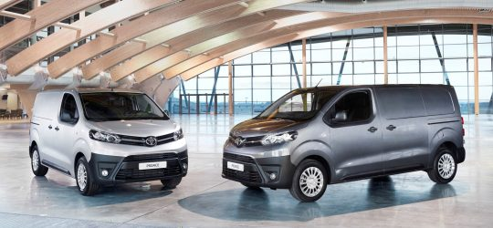 Toyota Proace: llega la gama 2022