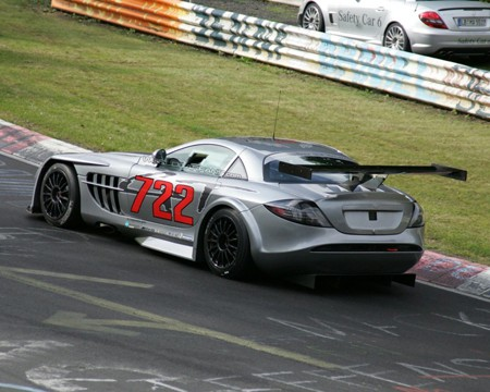 Espia Nurburgring Mercedes McLaren SLR 722 GT Zaga