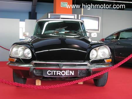 Vapor E Gasolina Citroen DS Frontal