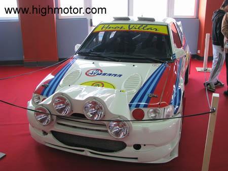 Vapor E Gasolina Ford Escort WRC Sainz Moya Frontal