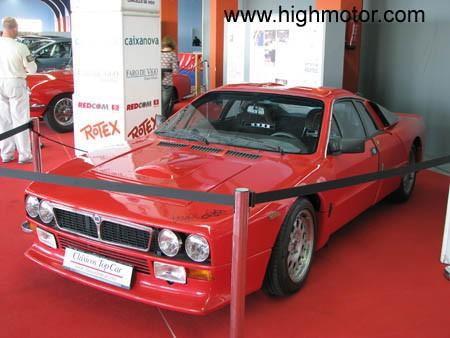 Vapor E Gasolina Lancia 037