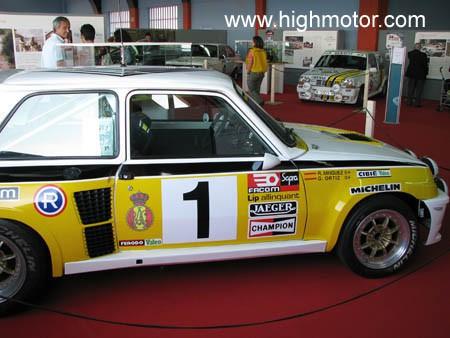 Vapor E Gasolina Renault 5 GT Turbo Lateral