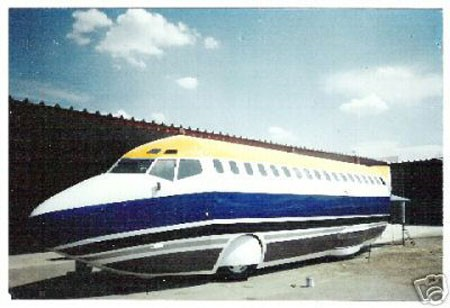 Boeing 727 Limusina Lateral