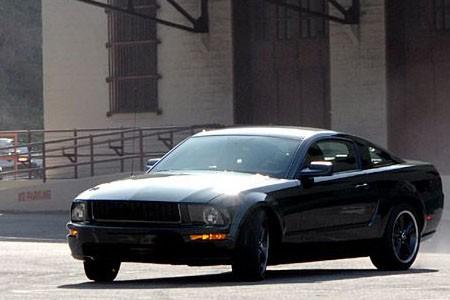 Ford Mustang Bullit Cruzada