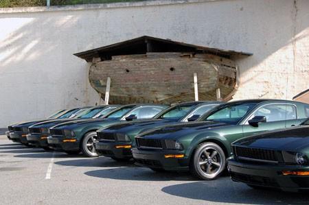 Ford Mustang Bullit Frontal Bateria