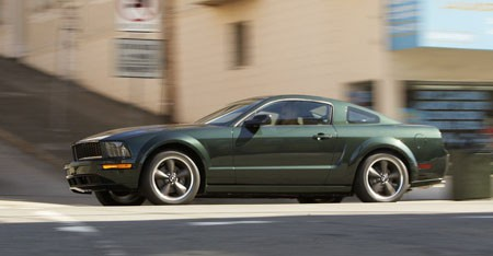 Ford Mustang Bullit Lateral