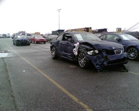 370 BMW dañados en un barco (4)