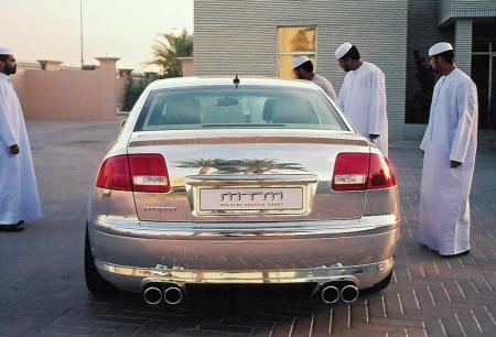 Audi A8 Chrome Edition (3)