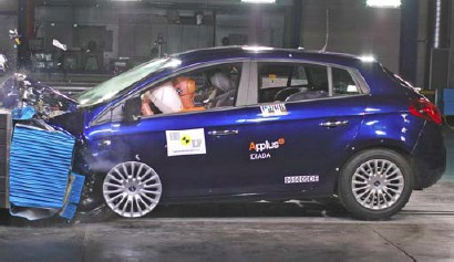 EuroNCAP Fiat Bravo