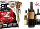 La revista CAR ofrece botellas de vino Virgin como regalo