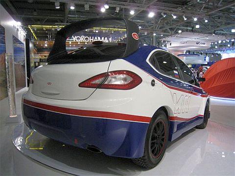 Chery M11 Rally - Salón de Moscú