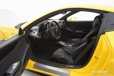 Ferrari 458 Italia de Amalgam Fine Model Cars