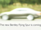 Bentley Continental Flying Spur, primer vídeo-teaser